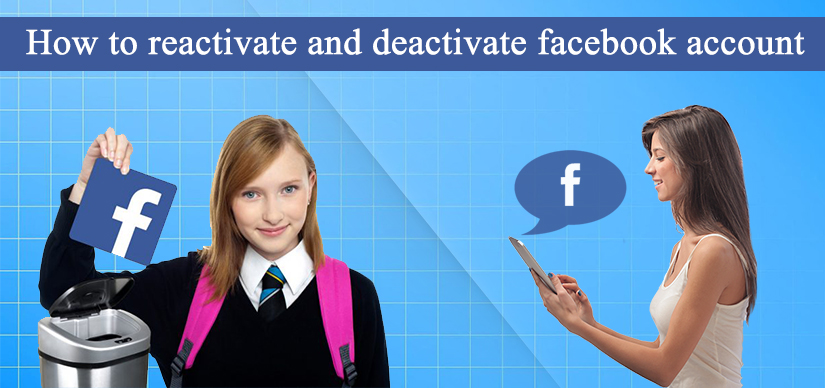 reactivate and deactivate facebook account