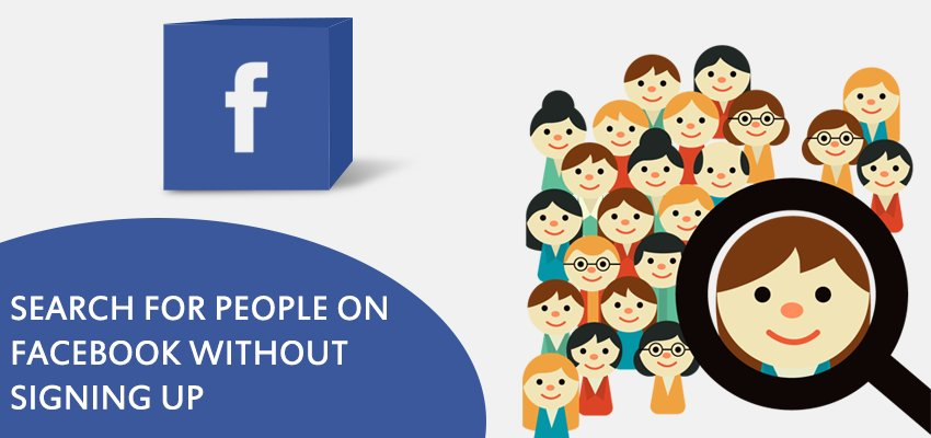 Search for people on facebook