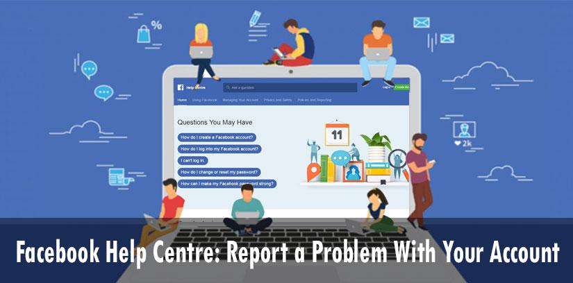 'facebook help centre'