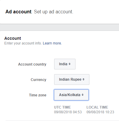 Add ad account