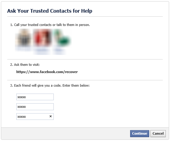 How to Use Facebook Trusted Contacts to Gain Access to Your Locked Account
