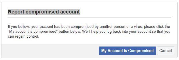 recover yahoo account using facebook